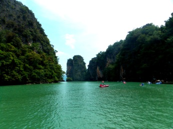 Canoeing around the Islands of Phuket