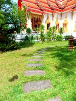 Stepping stones to Temple