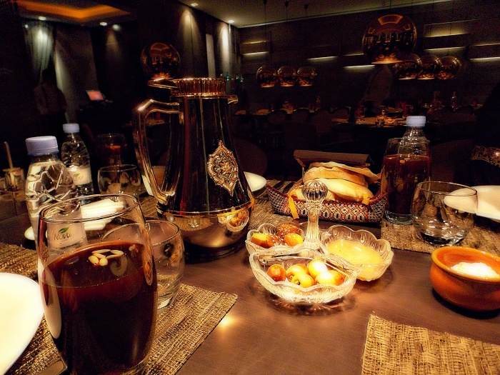 Iftar during Ramadan
