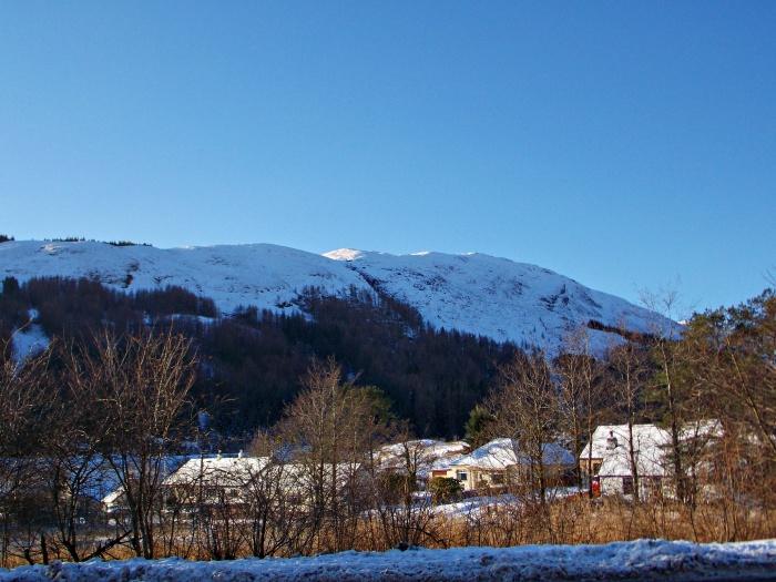 Scotish Highland Village near Glen Ogle