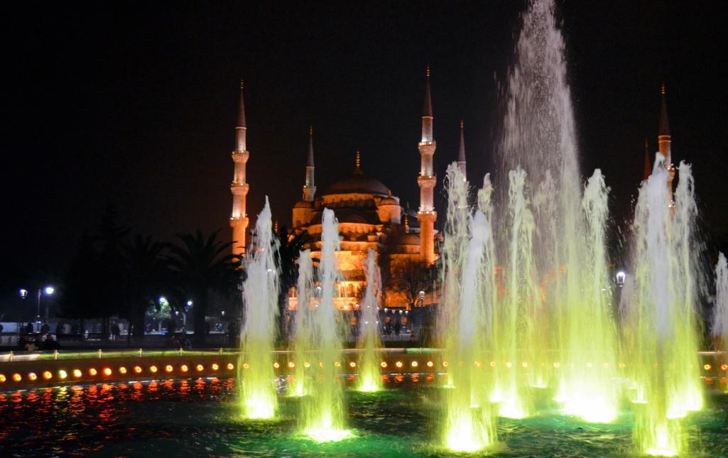 Istanbul, Sultanahmet Blue Mosque