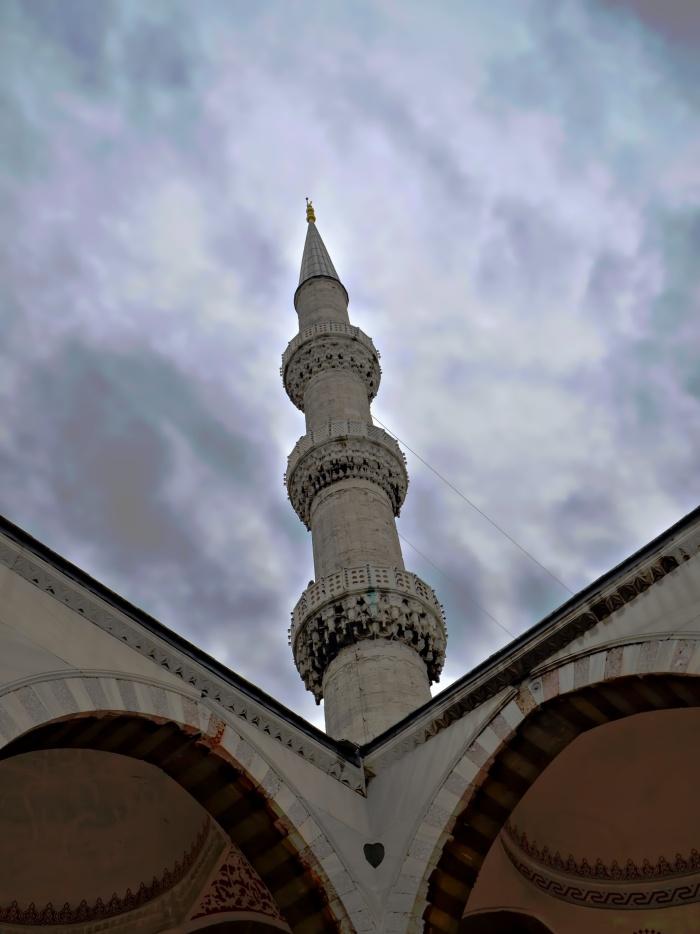 Istanbul - Minaret Spiral