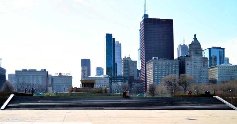 Chicago April 2013 - Buckingham Fountain