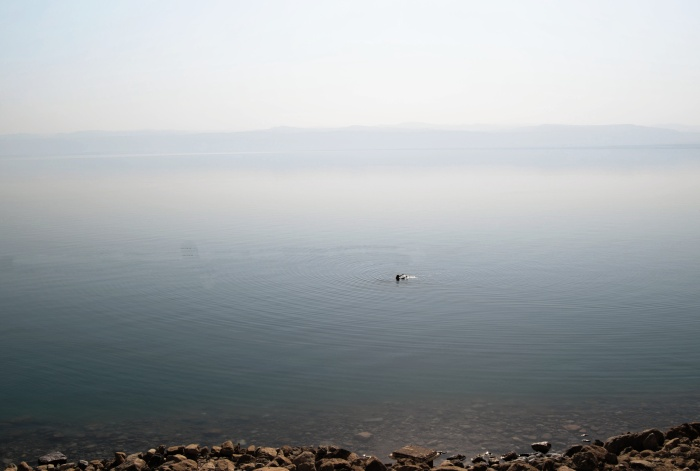 Floating in silence - The Dead Sea, Jordan