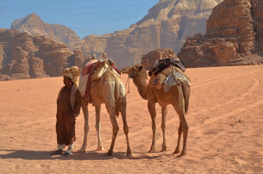 Bedouin ~ Wadi Rum, Jordan