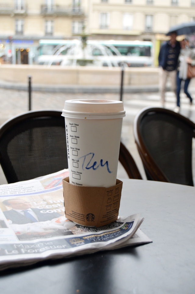 Starbucks in Paris
