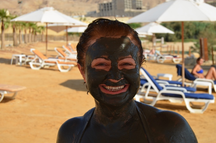 Mud of The Dead Sea, Jordan