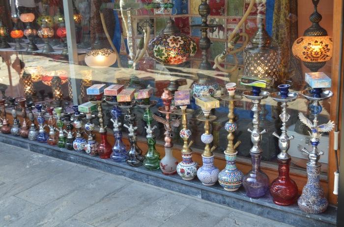 Hookahs in Istanbul