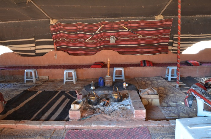 Bedouin tea time in Wadi Rum