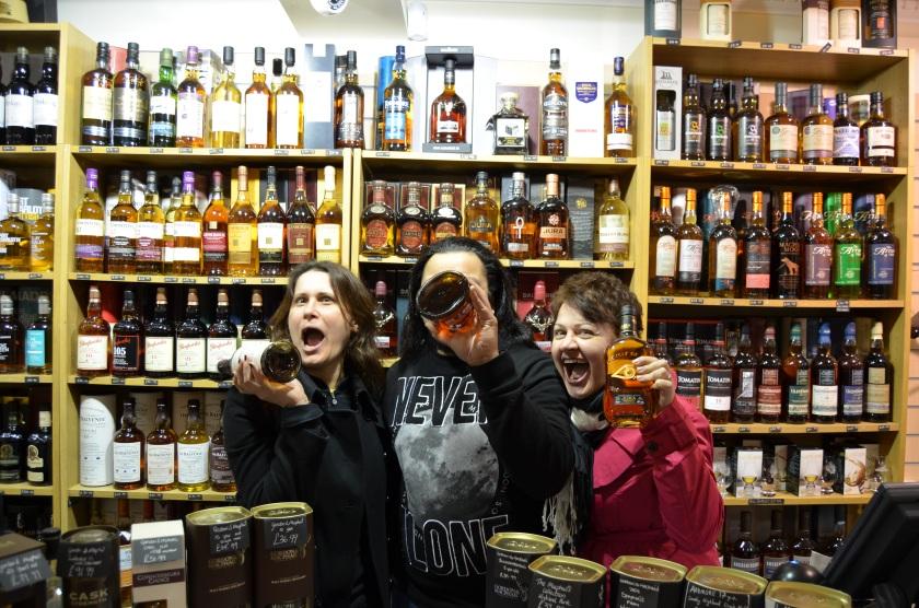 Whisky Tasting -  Edinburgh, Scotland