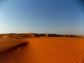 Red Sands. Arabian Desert. Saudi Arabia