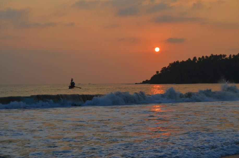 Sri Lanka. Mirissa Beach.