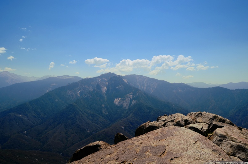 Sierra Nevada Mountains from The Sequoia National Park