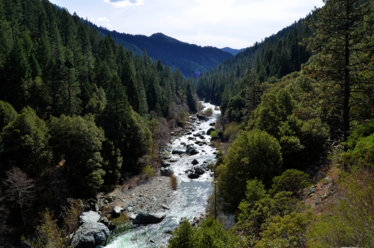 North Yuba River, California