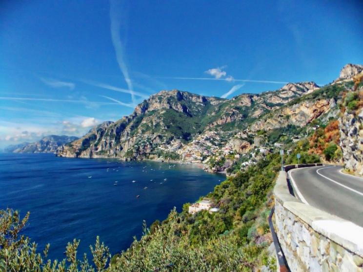 on the road between Praiano & Positano, Amalfi Coast