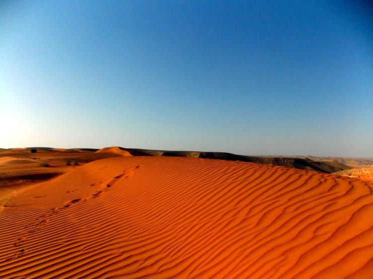 Red Sands of The Arabian Desert