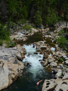 North fork Stanislaus River, CA